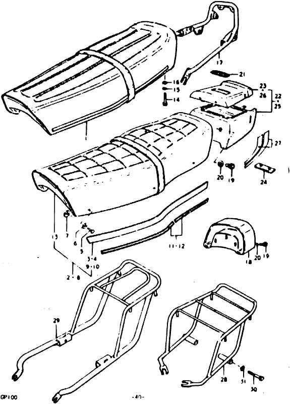 1977 Suzuki Ts100 Schematic Wiring