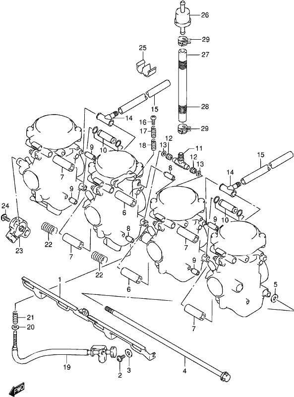 Mick Hone Gsx750f 2003 Carburetor Fittings Wiring Diagram Suzuki
