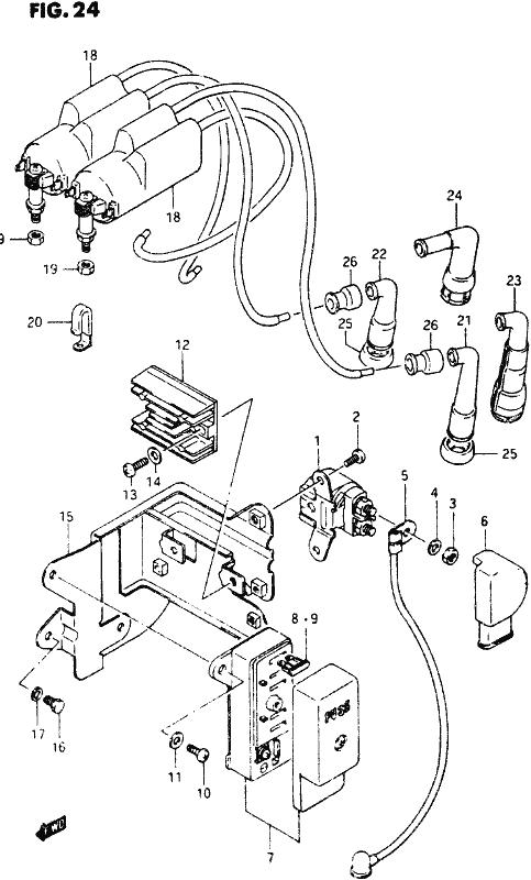 suzuki starter relay wiring