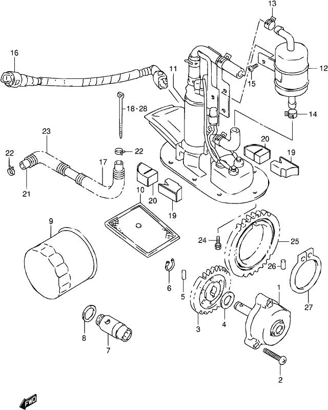 mick hone - tl1000s 1999   fuel pump
