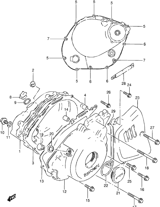 on Suzuki Gn 250 Wiring Diagram
